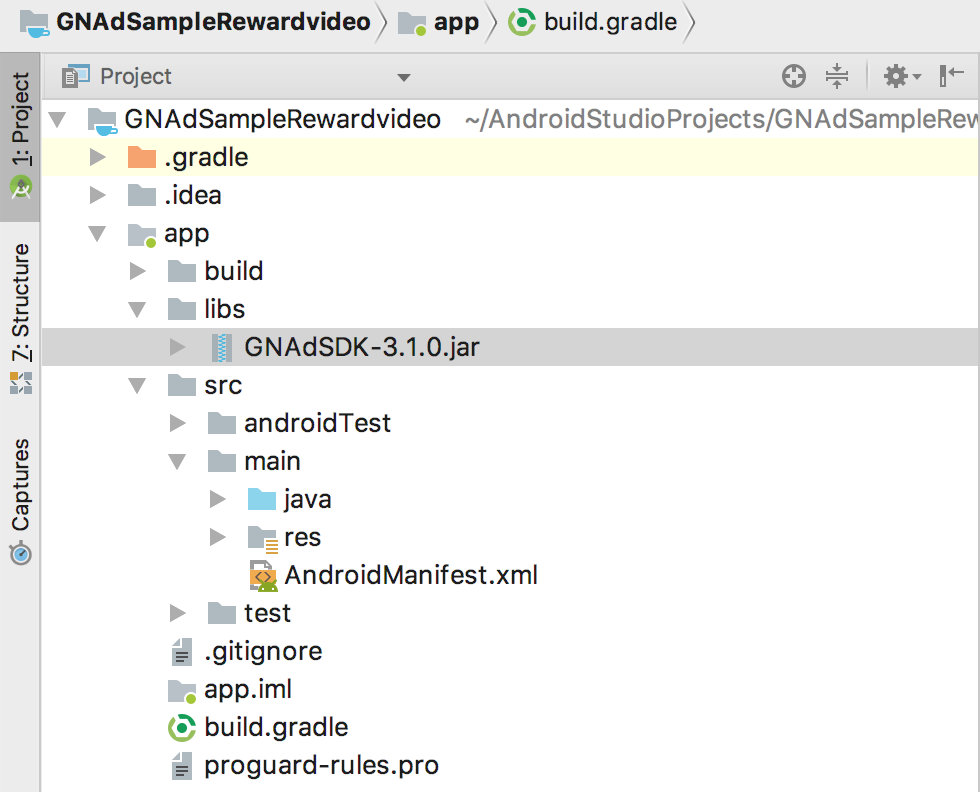 Android Getting Started Guide | Geniee SSP SDK Doccument